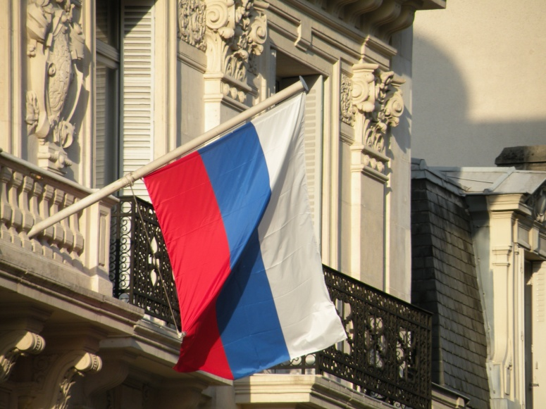 Drapeau_Russie_délégationUNESCO_Paris[1]