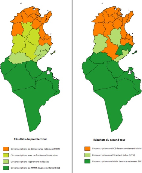 Géographie électorale de la Tunisie