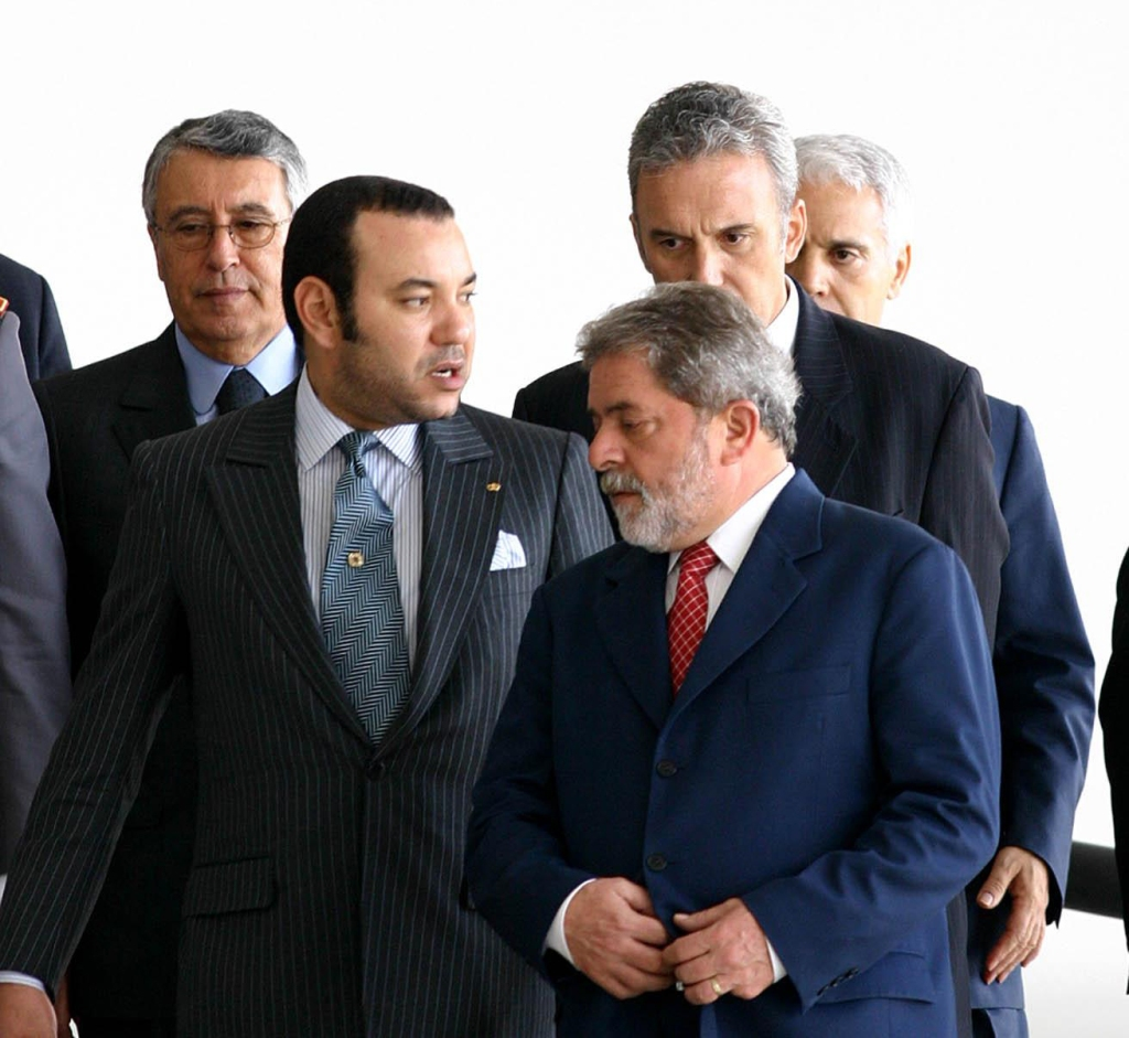 king Mohammed VI and Lula
