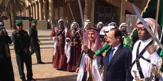 Le président François Hollande en visite en Arabie Saoudite en novembre 2012