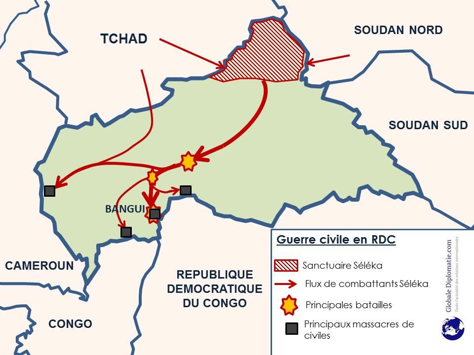 Carte guerre RCA