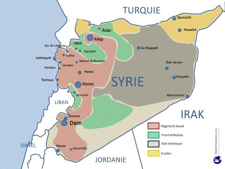 Carte syrie maison