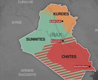 Géographie ethnico-confessionnelle de l'Irak
