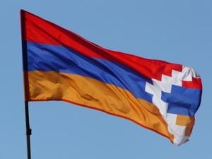 Drapeau de la République du Haut-Karabagh