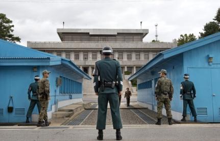 Frontière entre la Corée du Nord et du Sud